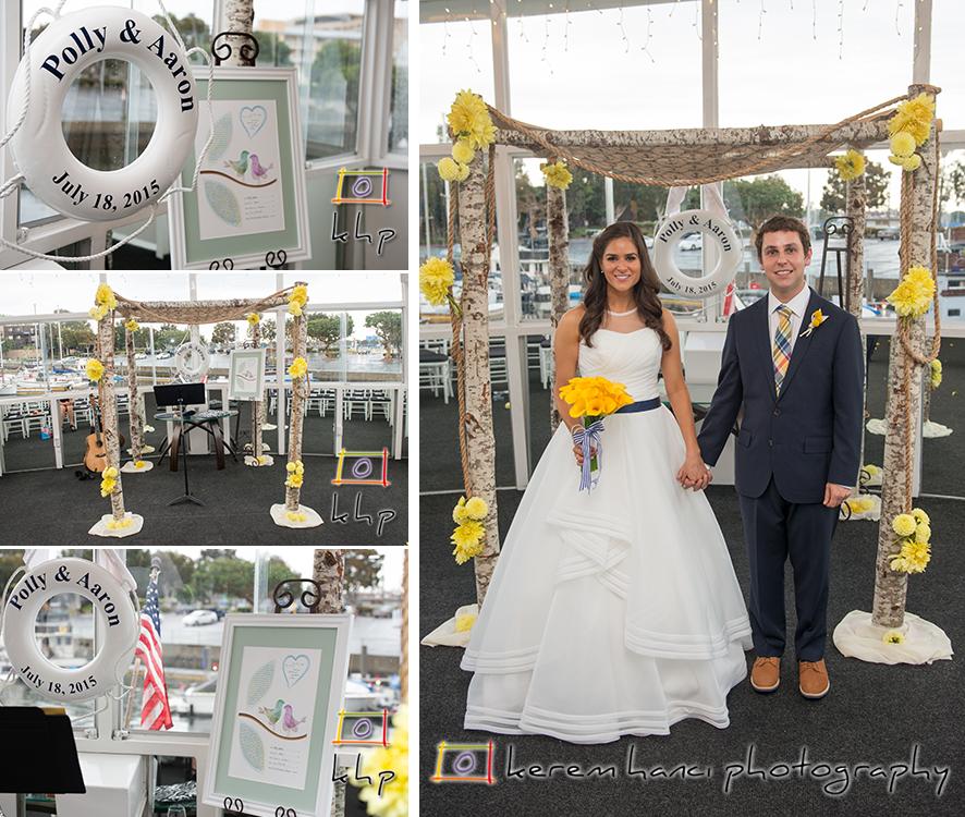 Kerem Hanci Photography bride and groom portraits on a Fantasea Yacht
