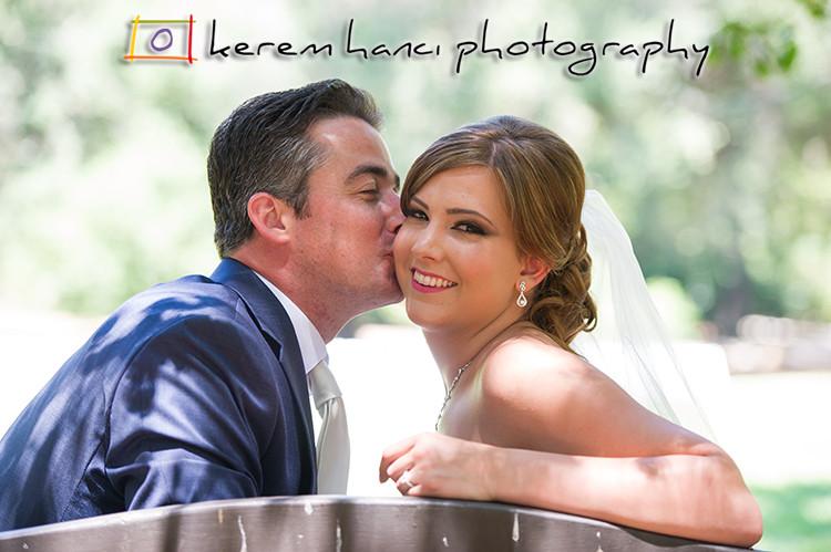 Wedding Portraits in Descanso Gardens