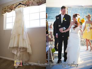 Kealani's Wedding Dress in Malibu, CA