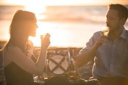 Lunada Bay Beach Picnic Engagement