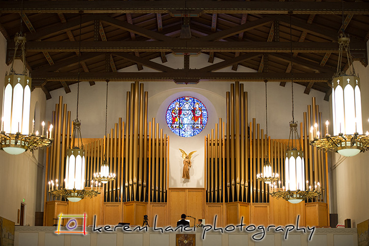 The Organ at the St. Philip Apostle Church in Pasadena, CA