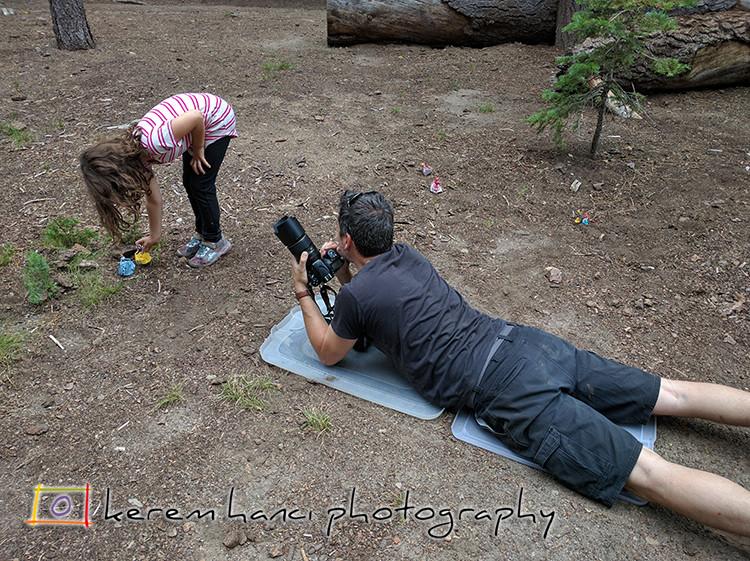 Behind The Scenes of a Photo Shoot involving Princesses