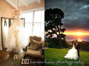 Ellie's Wedding Dress in Palos Verdes, CA