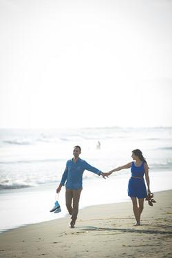Walk on the Venice Beach Engagement