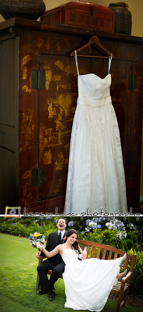 Shira's Wedding Dress in Los Angeles, CA