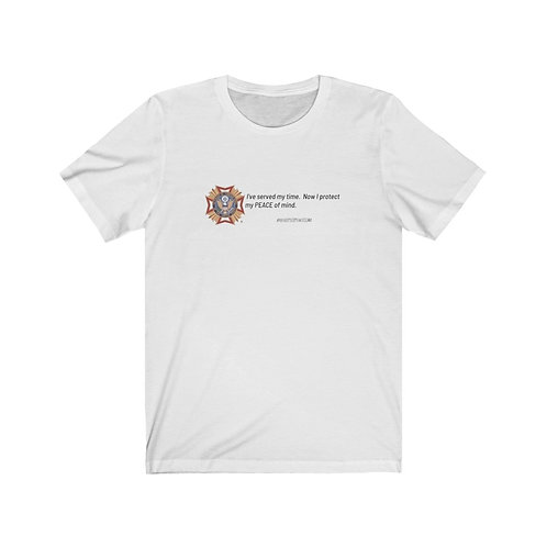 VFW Peace Of Mind Adult Tshirt