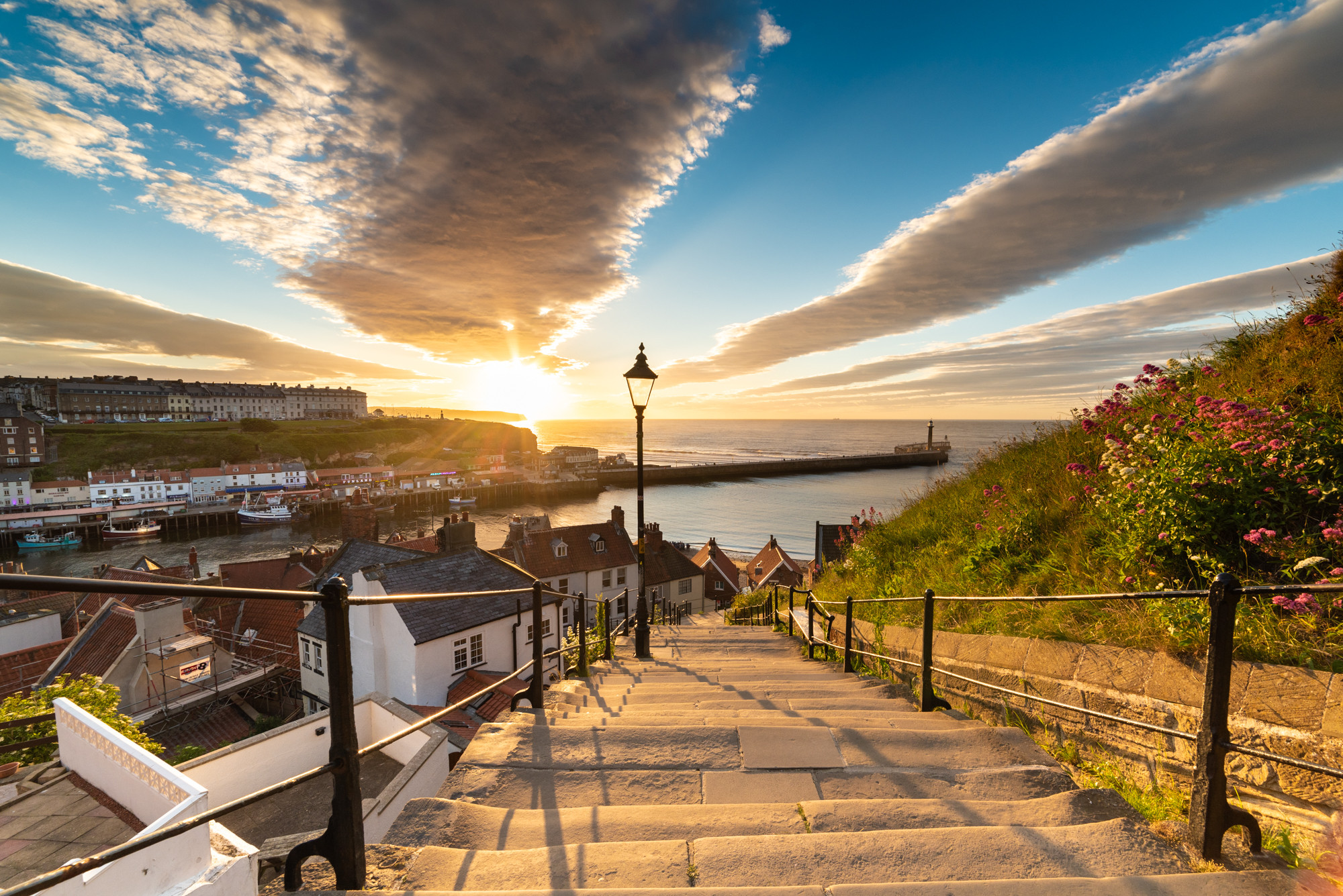 Whitby night photography group course