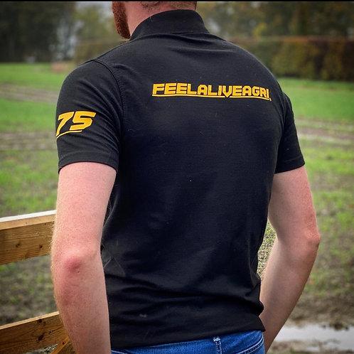 FEELALIVEAGRI 75 Mens Polo
