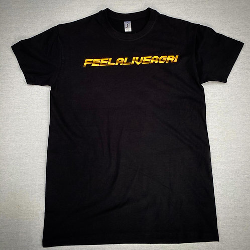 FEELALIVEAGRI Mens Retro T-Shirt