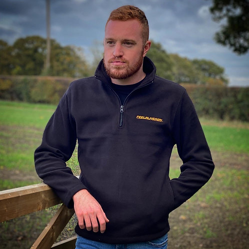 FEELALIVEAGRI Premium 1/4 Zip Microfleece