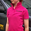 Thumbnail: FEELALIVEAGRI Ladies Hot Pink & Black Polo