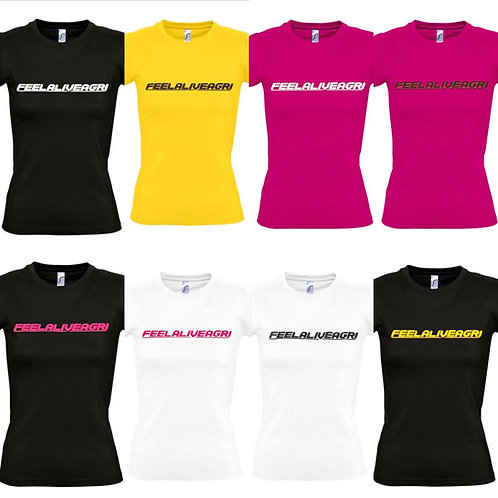 FEELALIVEAGRI Ladies Original Heavy T-Shirt
