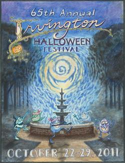 2011 Irvington Halloween Poster