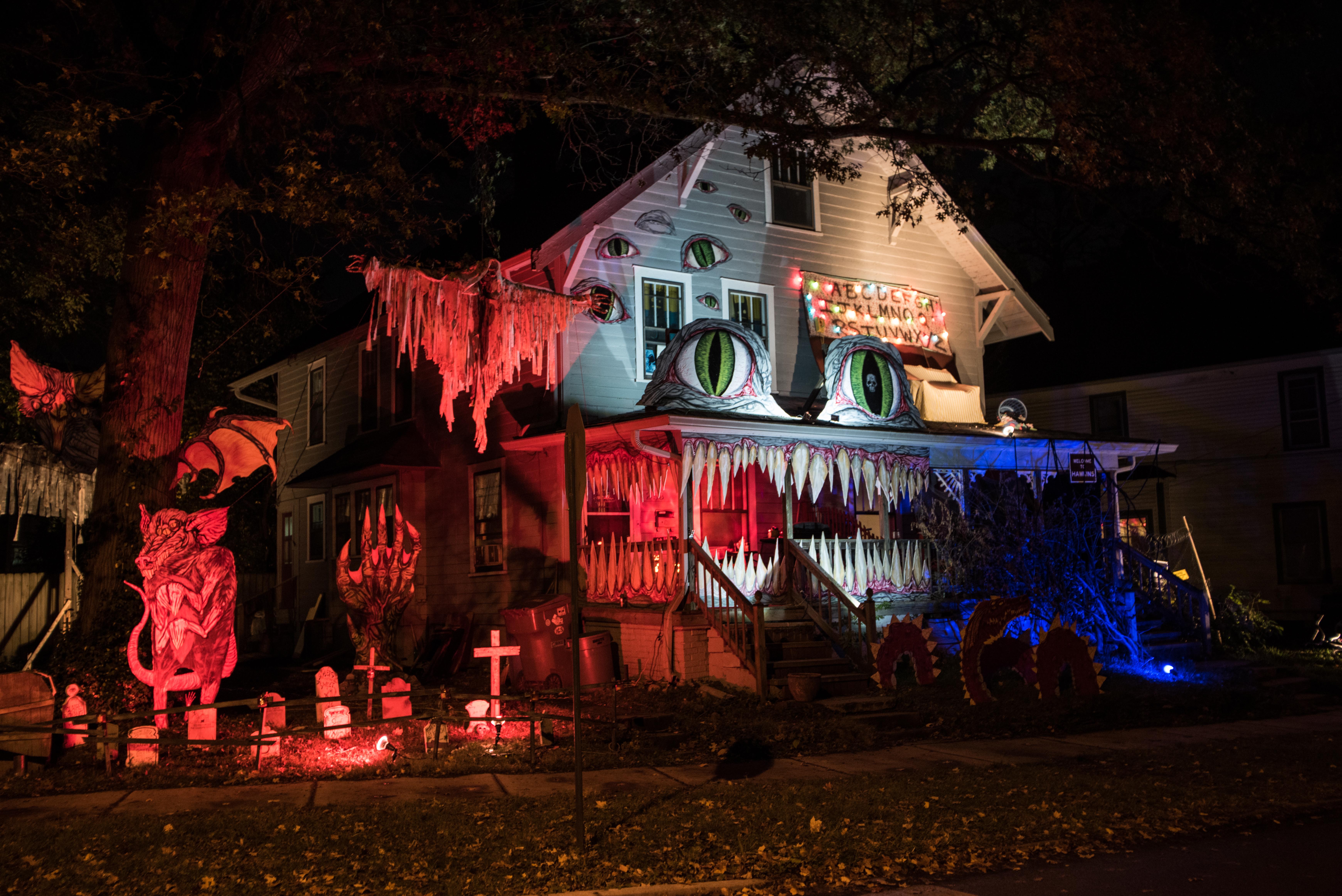 Halloween House Decorating Contest Irvingtonhalloween