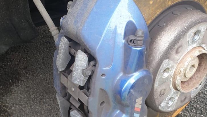 Mobile brake fitting in Sheffield 👌🏼