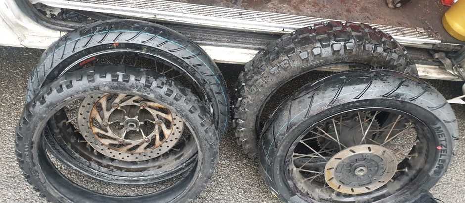 Motorbike tyres fitted in Sheffield