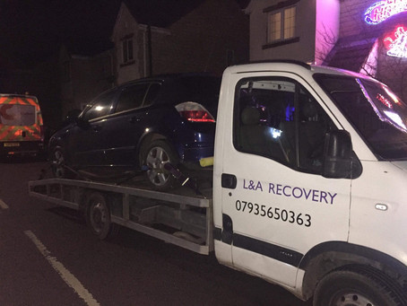 Car recovery Chesterfield