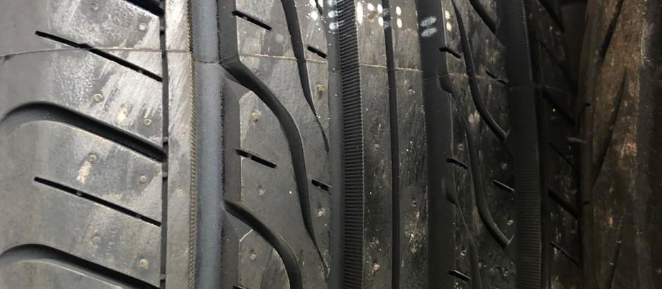 Legal tread depth requirement