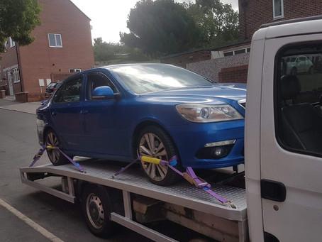 Breakdown recovery from S20 in Sheffield 👌🏼