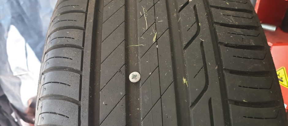 Can my tyre be repaired?