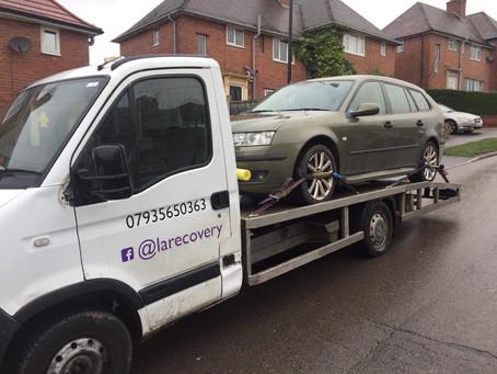 Car Recovery Sheffield