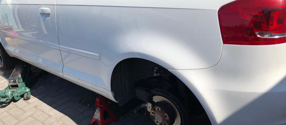 Mobile brake fitting in S12