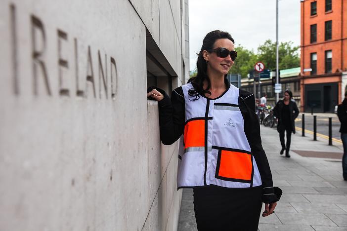 Georgia in Dublin D1 Style vest