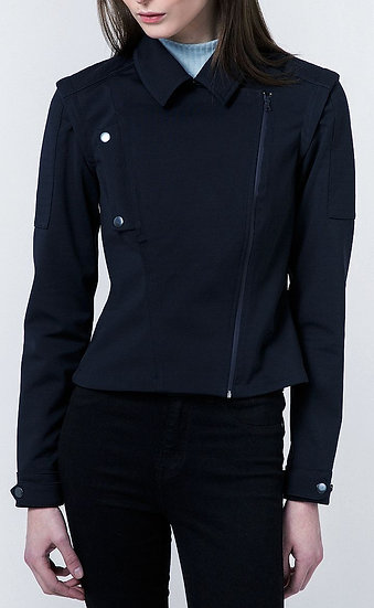 Meame Altair biker jacket front