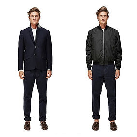 Huez Tempest Bomber Sports tailored jacket
