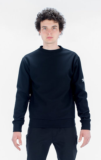 Huez Softshell Sweat crew front