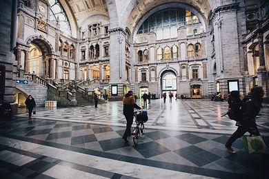 Phlip Rubbens Centraal Station Antwerpen