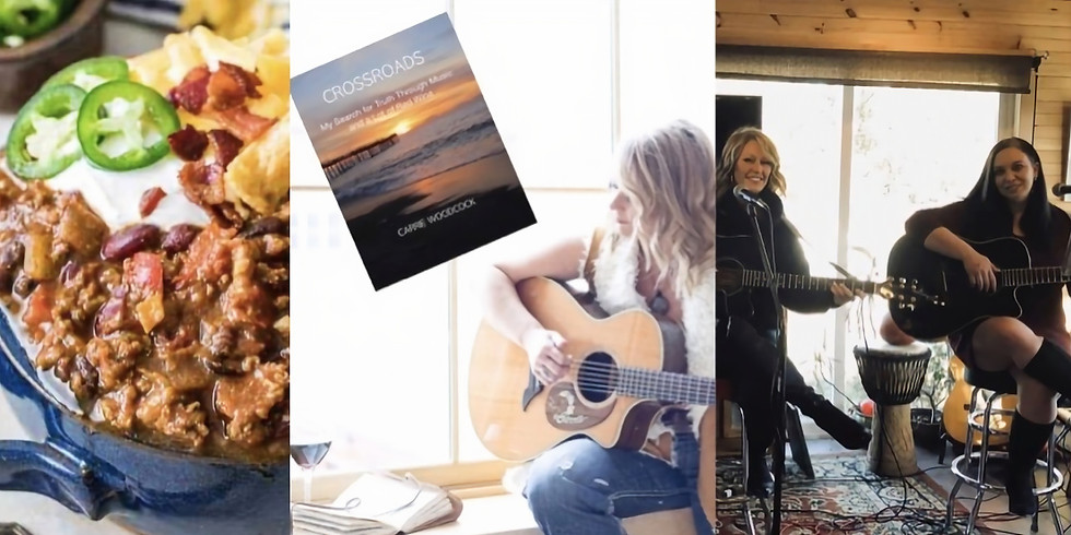 Book Signing, Chili Cook Off, & Live Music