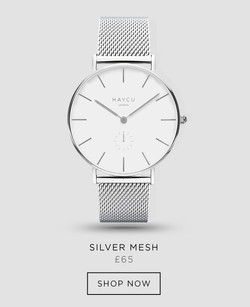 Silver and all silver mesh