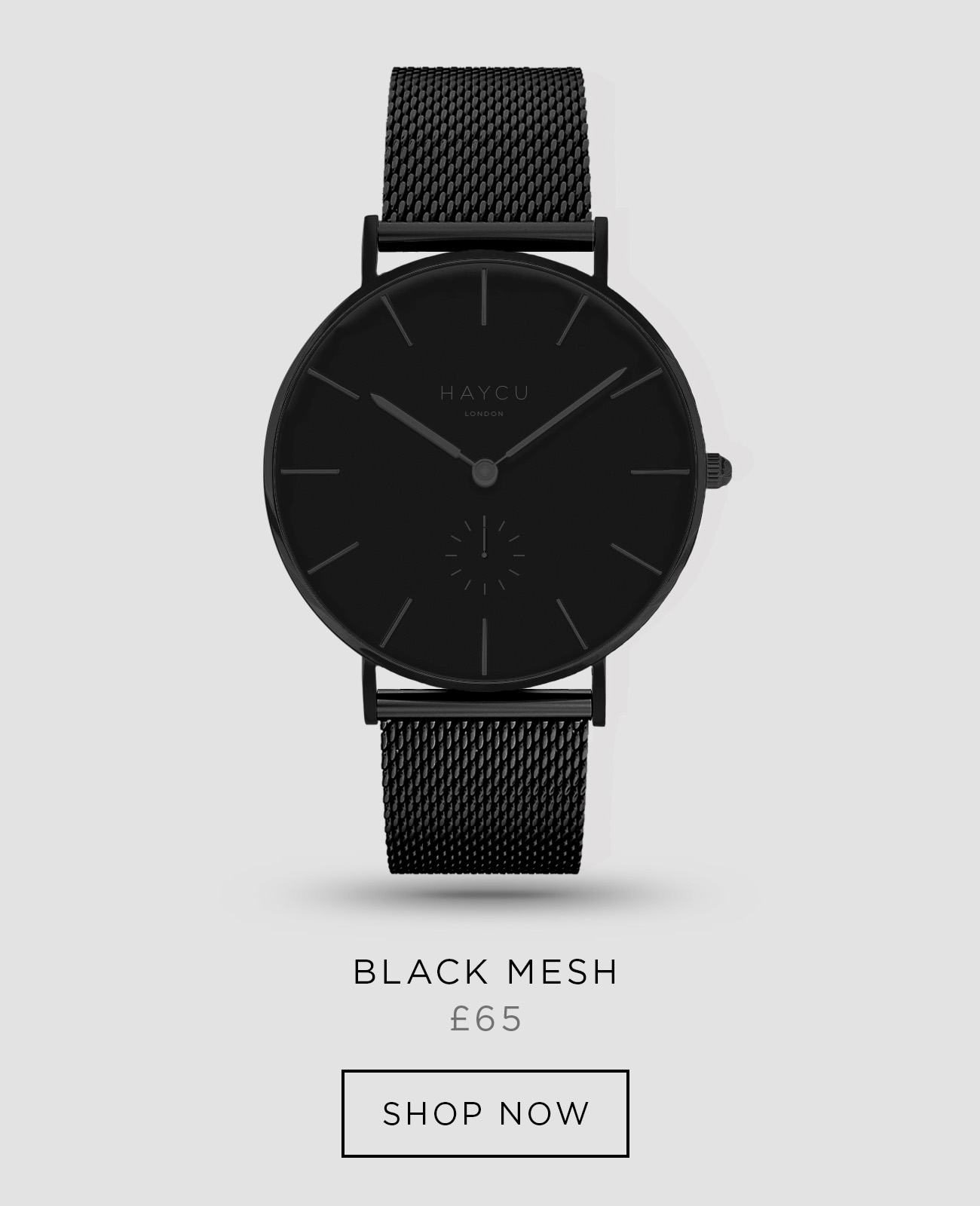 Black and all black mesh