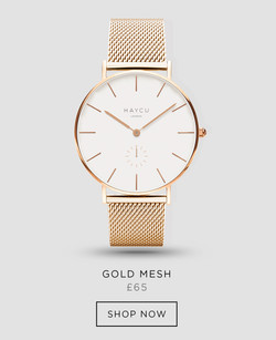 Gold and all gold mesh