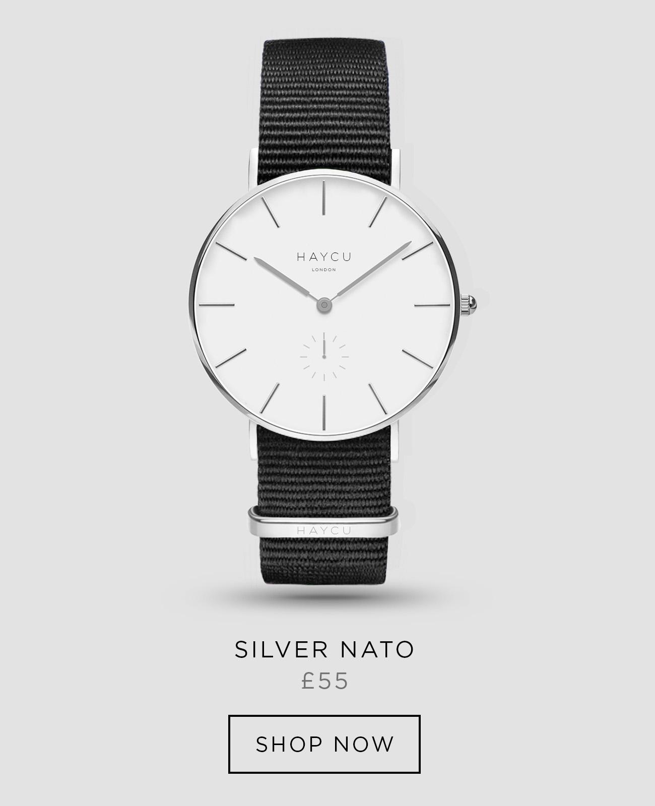 Silver and black NATO