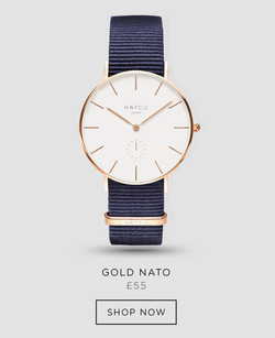 Gold and blue NATO