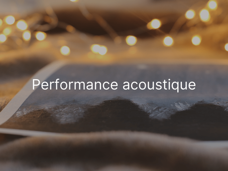 Info - Performance acoustique climatiseur réversible