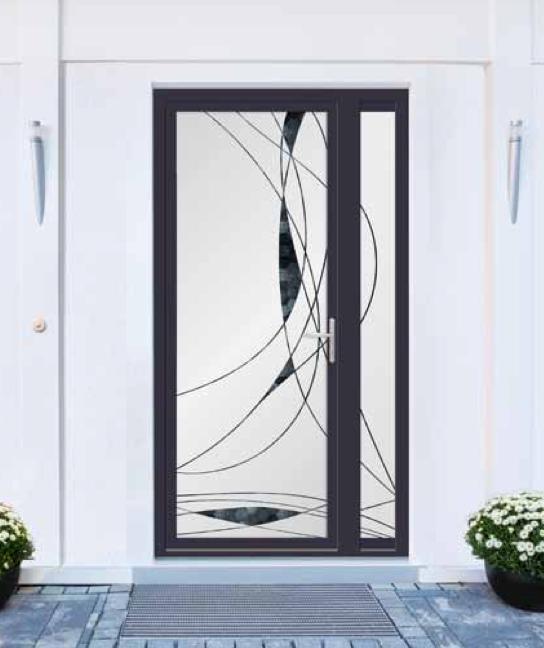 Porte d 'entrée Aluminium
