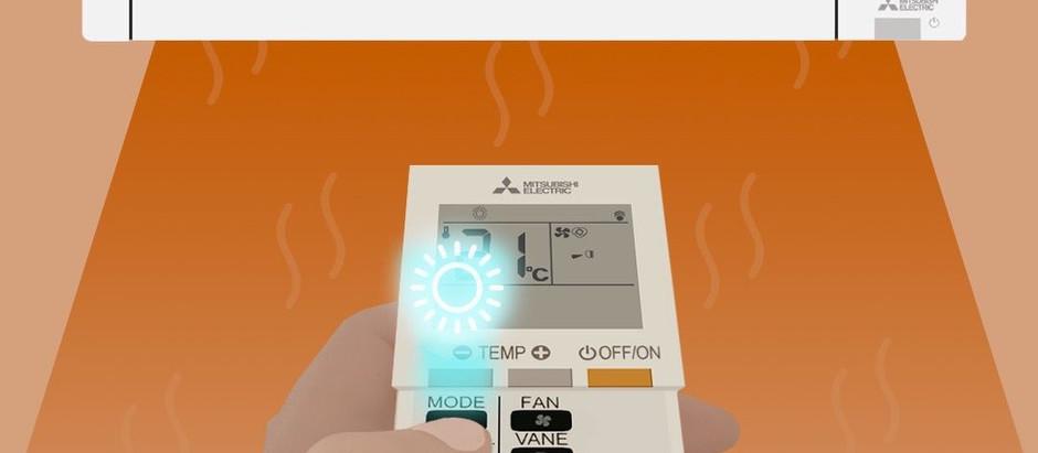 Passez en Mode chauffage sur votre climatisation