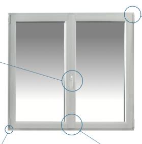 Fenêtre et porte fenêtre  AMX Hybride