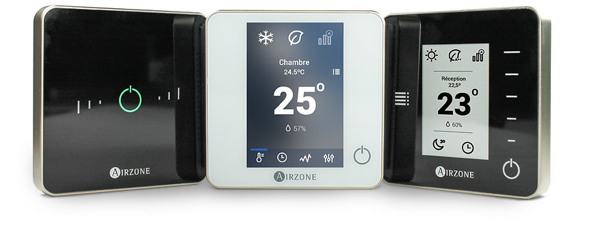Air Zone Thermostat pour Gainable