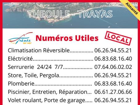 Numéros Utiles Théoule Trayas