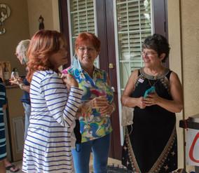 MJ Elwood, Denise Burren and Marie Lanier