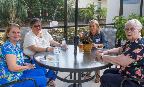 Jean Millirons, Laura O'Brien, Patsy Campbell and Marilyn McNamara