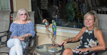 Annette Felahis - Health & Wellness Co-chair and Terry Burde