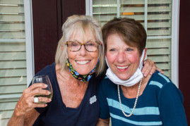Melanie Mathis - Hospitality Chair and Maureen Pellegrini - Fundraising