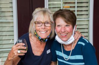 Melanie Mathis - Hospitality Chair and Maureen Pellegrini - Fundraising