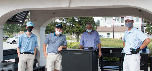 Golf Club Employees who made sure everyt