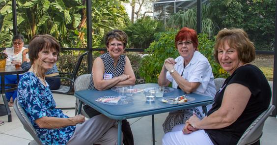 Barbara Cummings, Marie Lanier, Denise Burren & Carol Vaughn